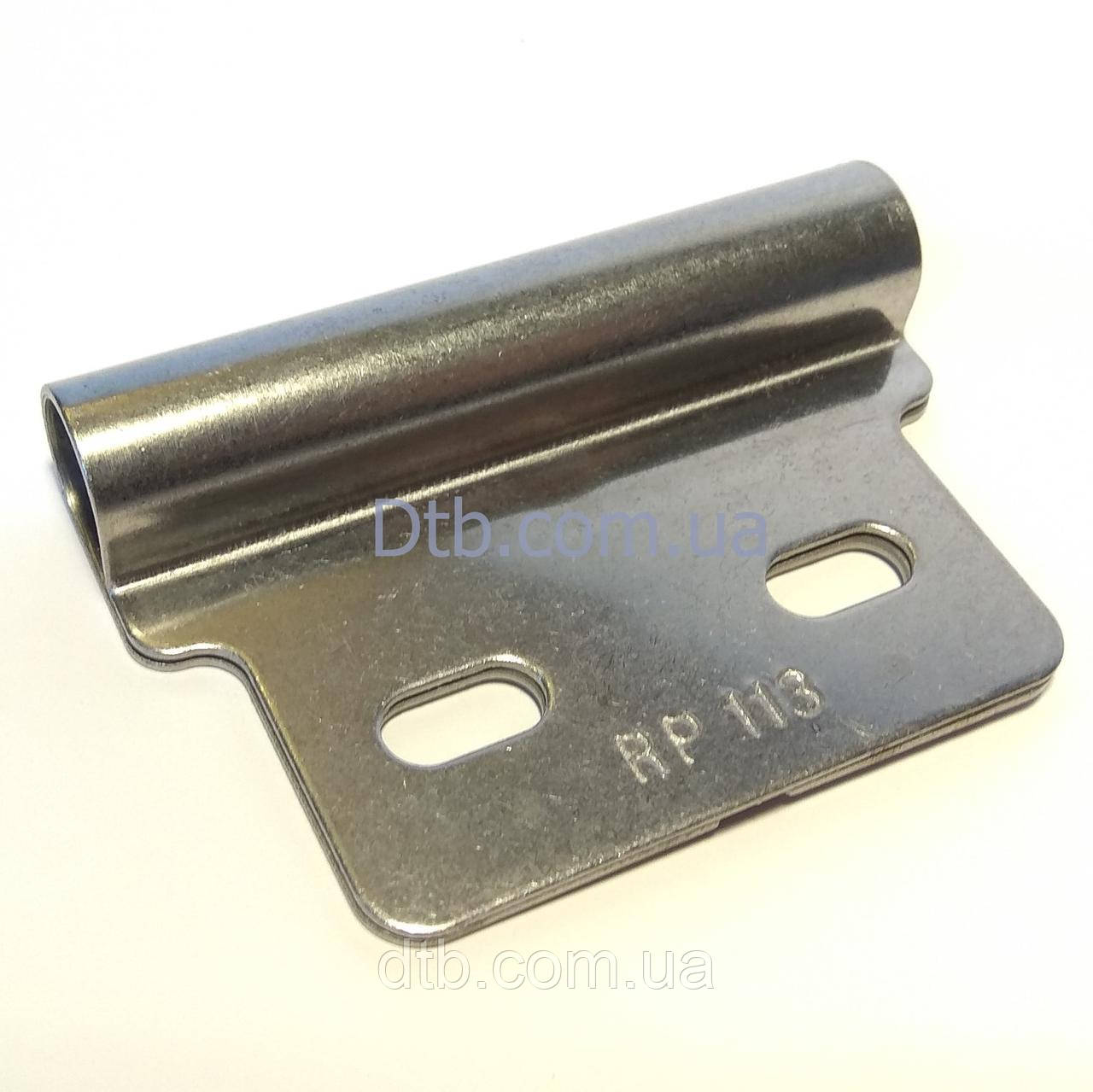 Накладка роликовий нержавіюча RP113 - роликодержатель Alutech
