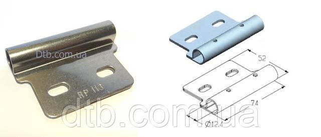 Роликодержатель верхний для роликов ворот ролет