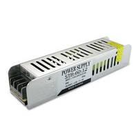 Блок питания для светодиодной ленты DC12 60W 5А STR-60 узкий с EMC фильтром