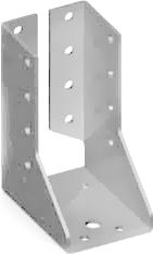 Наконечник балки внутренний сталь ,цинк белый ,для кровельных работ, для строительства ,100 -