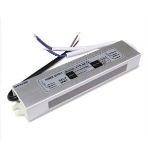 Блок питания 60W для светодиодной ленты OEM DC12 5А WP герметичный, алюминиевый