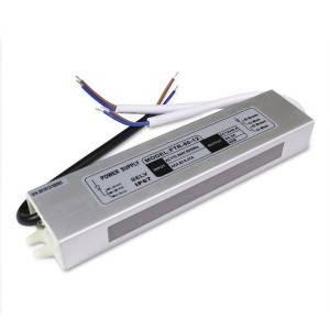 Блок питания 60W для светодиодной ленты OEM DC12 5А WP герметичный, алюминиевый, фото 2