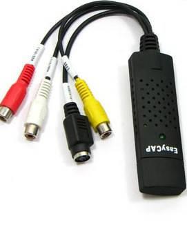 USB карта видеозахвата EasyCap 2.0, видеонаблюдение, фото 2