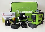 Fukuda MW 93T-2-3GJ - лазерный нивелир с зелеными лучами  Li-ion - сенсор - 3D, фото 2
