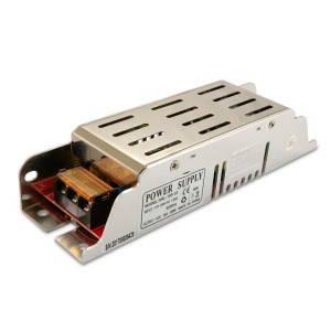 Блок питания 120W для светодиодной ленты DC12 10А ARL-120 узкий, металлический