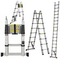 Раскладная лестница 3.8 м, фото 1