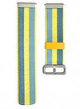 Браслет Amazfit Bip strap Blue/Yellow with stripes
