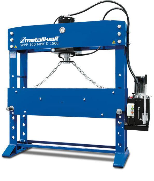 Пресса гидравлические Metallkraft WPP 100HBK D1500