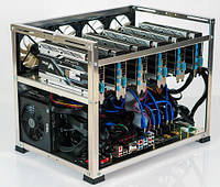 TI-miner (Top) GPU 6 Sapphire Radeon RX Vega 64 8G