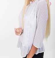 Блуза молодежная белая, фото 1