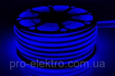 # 52-B Светодиодный неон 120Led/m-120B2835-220V-12W/m IP65 6mm Синий 1017894