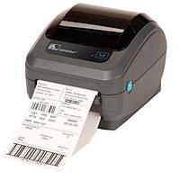 Термопринтер печати штрих кода Zebra GK420D, фото 1