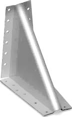 Опора угловая сталь ,цинк белый ,для кровельных работ, для строительства ,90 -
