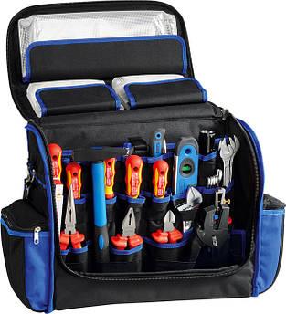 Сумка електрика з набором інструментів VDE, 26 предметів HEYTEC, Німмечина