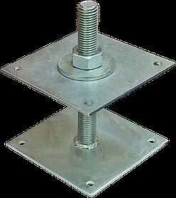 Домкрат колонны сталь ,цинк белый ,для деревянных конструкций, для кровельных работ, для