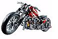 """Конструктор Decool 3353 """"Мотоцикл"""" 431 дет, фото 2"""