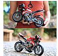 """Конструктор Decool 3353 """"Мотоцикл"""" 431 дет, фото 4"""