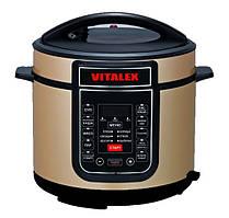 Мультиварка-скороварка Vitalex VL-5202 Золотая (N10575-3)