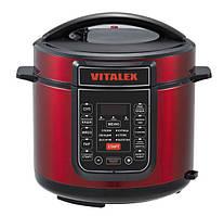 Мультиварка-скороварка Vitalex VL-5202 Красная (N10575-2)