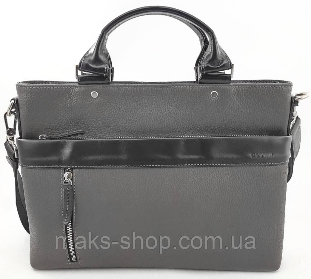 191155ed2f3b Мужская кожаная сумка/ деловой портфель VATTO Mk13.7 F13Kaz1 - Maks Shop-  надежный