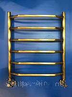 Бронзовый полотенцесушитель 500*600 Трапеция 6 АЗОЦМ , фото 1