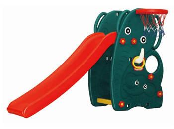 """Детская горка Happy Box JM-706 """"Слон"""" с баскетбольным кольцом + подарок"""