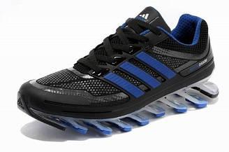 Оригинальные мужские кроссовки Adidas Springblade 05M (черно-синий)