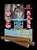 Альфа Спирит Alpha Spirit Sticks беззерновое лакомство для собак с рыбой палочки 40 г 4 шт