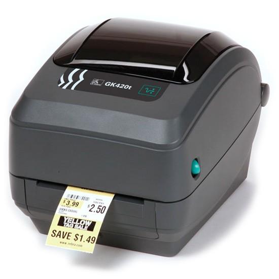 Принтер печати штрих кода Zebra GX420T
