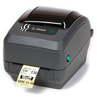 Принтер печати штрих кода Zebra GX420T, фото 1