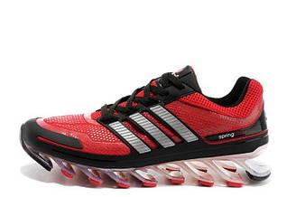 Оригинальные мужские кроссовки Adidas Springblade 07M (красно-серый)
