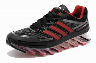 Мужские кроссовки Adidas Springblade 08M (черно-красный)