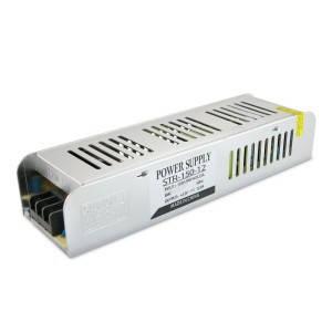 Блок питания для светодиодной ленты DC12 150W 12,5А STR-150 узкий с EMC фильтром