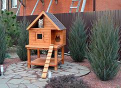Уличный домик для кота