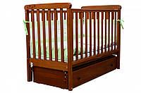 Детская кроватка Верес Соня ЛД 12 маятник+ящик (ольха)