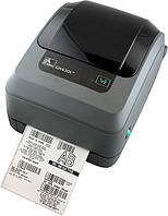 Zebra GX430T термотрансферный принтер печати штрих кода, фото 1