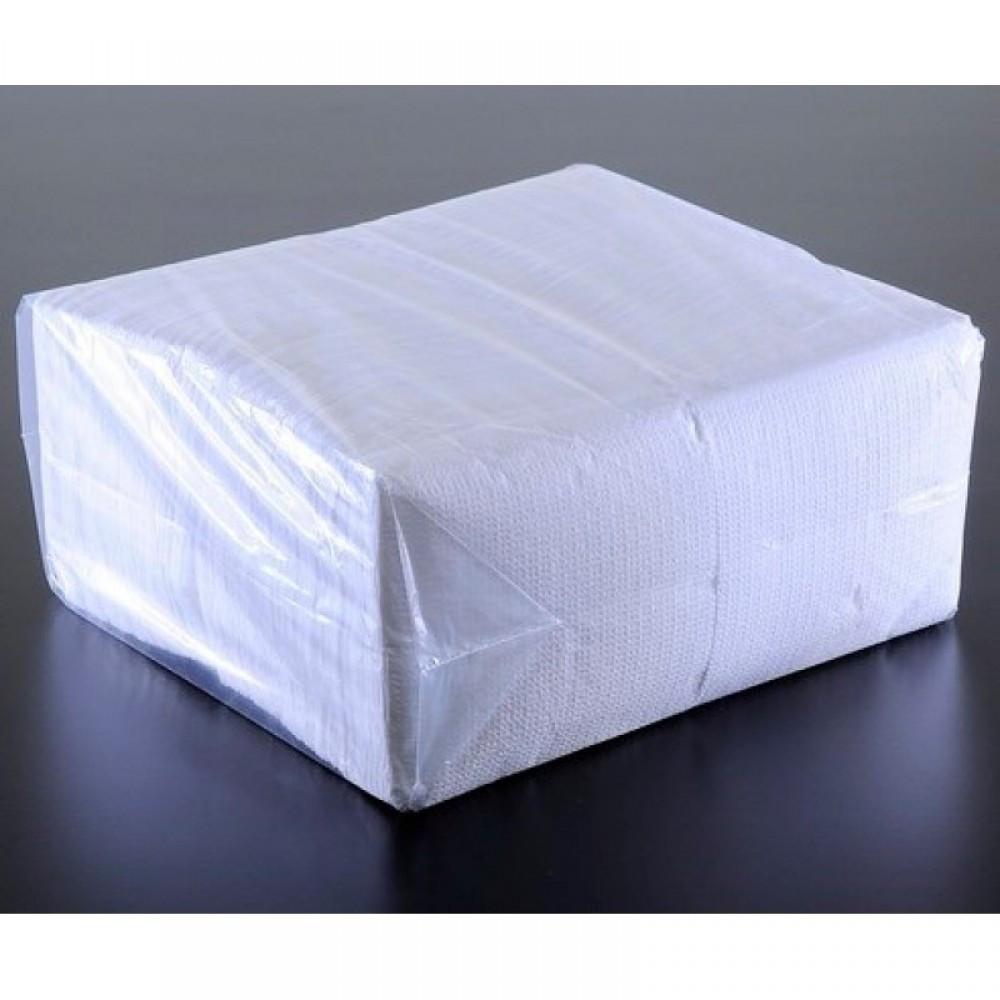Салфетки двухслойные белые 24х25 см, 2400 шт