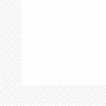 Серветки білі 33х33см Марго 3 слойн. 20шт