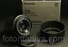 Panasonic Lumix G 25mm f1,7 ASPH