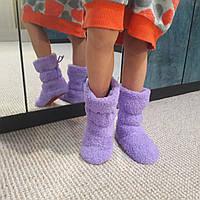 Тёплые тапочки-сапожки с 18 по 27 размеры