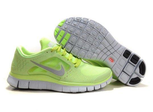 775b9795 Nike Free Run 5.0 Кроссовки женские для бега салатовые - Интернет магазин  обуви «im-