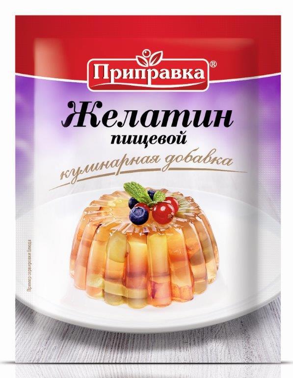 """Приправа ТМ """"Приправка"""" Желатин пищевой 15 г"""