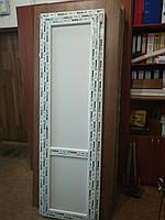 Готовая  дверь металлопластиковая 580*1900