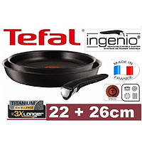 Сковородка TEFAL INGENIO 22-26 см, фото 1