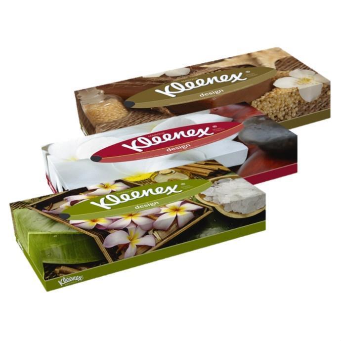 Салфетки в коробке 150шт Kleenex Family 20*20см 2 слойные  -2805