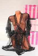 Пеньюар Сетка Халат Victoria's Secret M \ L Оригинал Виктория Сикрет, фото 1