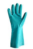 Перчатки нитриловые, зеленого цвета, фото 1
