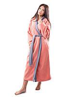 Женский флисовый халат (в расцветках S/M, L/XL)