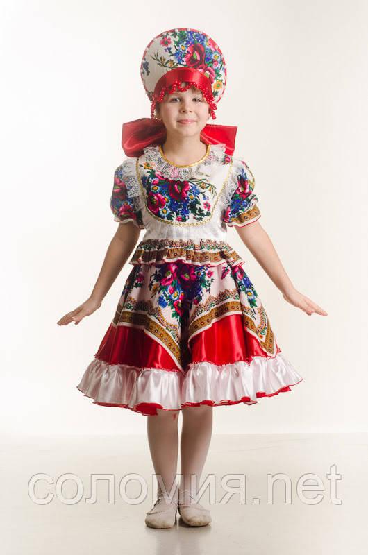 Детский карнавальный костюм для девочки Кадриль 110-152р
