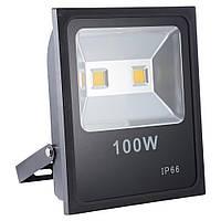 Светодиодный LED прожектор Kronos LAMP влагозащищенный IP66 100W Черный (par0208026)